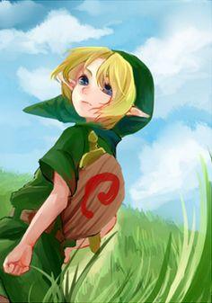 The Legend of Zelda: Ocarina of Time / Young Link / 「zelda log②」/「もぶ」の漫画 [pixiv]