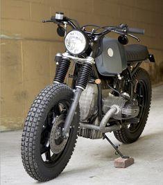 Like many custom shops VDB Moto was born out of the. Bmw Cafe Racer, Cafe Racers, Cafe Bike, R65, K100, Bmw Boxer, Bmw Scrambler, Custom Bmw, Custom Bikes