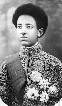 Crown Prince Asfaw Wossen of Ethiopia