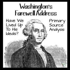 washington's farewell address Washington's farewell address to the people of the united states 106th congress 2nd session senate document no 106–21, washington, 2000 cover 1—prints.