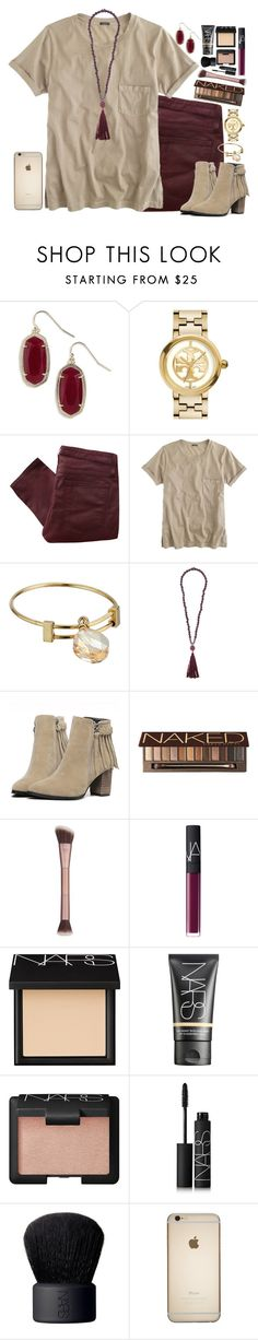 """Untitled #944"" by julesnewkirk ❤ liked on Polyvore featuring Kendra Scott, Tory Burch, Helmut Lang, J.Crew, Alex and Ani, Zeus+Dione, Urban Decay, NARS Cosmetics, women's clothing and women's fashion"
