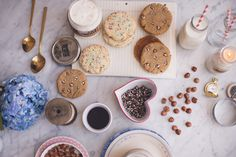 Constellation Inspiration: Homemade Ice Cream Sandwiches (with Funfetti + Peanut Butter Cookies!)