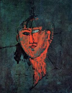 Amadeo Modigliani, Tète, 1915