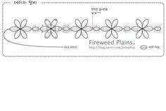 "87 Likes, 4 Comments - 위드 (@tattingweed) on Instagram: ""Daisy bracelet 2013 (C) tattingweed 데이지 팔찌 No commercial use. No copy. No distribute.  #태팅 #태팅레이스…"""