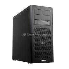 Lian Li PC-9FB Midi-Tower USB 3.0 in schwarz. Herausgekommen ist eine zeitlos elegantes Gehäuse mit hoher Funktionalität, dass seinen Innenaufbau mit dem PC-8FI teilt. Beide verbindet eine moderne Frontaufteilung, eine leistungsfähige Belüftung, diverse Entkopplungen zur Geräuschreduzierungen, Tool-less Elemente für einen komfortablen Hardware-Einbau und ein modernes I/O-Panel.