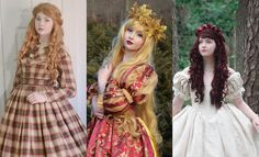 She soon upgraded to historical and fantasy inspired gowns. | This 18-Year Old Girl Is Sewing Gowns That'll Take Your Breath Away