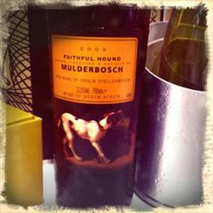 """Mulderbosch Faithful Hound Red Stellenbosch, South Africa-  """"Solidly ripe, but stylish, with a whiff of mint running through the red currant, blackberry and tobacco notes. A sanguine edge checks in on the finish. Cabernet Sauvignon, Merlot, Petit Verdot, Cabernet Franc and Malbec."""" - 90 Pts Wine Spectator  Taste currant, blackberry, cherry, bell pepper, olive, asparagus, spice, ginger, oak, vanilla, black cherry, plum, smoke, toast, tar, lead, cedar, molasses, dark fruit, tobacco, raspberry…"""