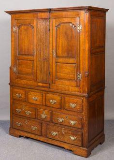 Oak Housekeeper's Cupboard/Robe