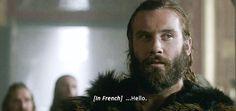 Rollo flirting with the princess - #vikings #seasonfinale