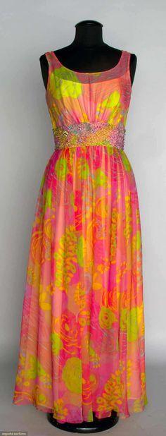 Spanish Designer Evening Gown, 1970s, Augusta Auctions, November ...