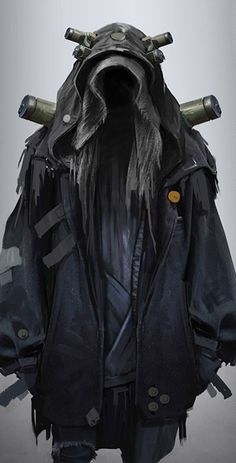 "amarohk: "" cyberpunk nomad concept 2 """