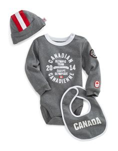 Sochi 2014 Canadian Olympic Team Collection | Sochi 2014 Infant Two-Piece Fleece Set | Hudson's Bay #HBCOlympics