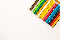 Free Multi Colored Pencils Over White Background Photo Rainbow Background, White Background Photo, Free Collage, Rainbow Wallpaper, Backgrounds Free, Inspiration For Kids, Color Blending, Sculpture, Colorful Pictures