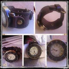 Reloj de cuero marrón - 12€ Ref: R124