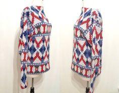 Vintage Sweater Neo Pattern of JOy / 60s 70s by BibbysRocket