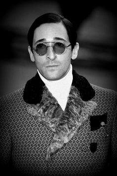 Adrien Brody for Prada  One of the most stylist actor in Hollywood