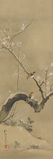 December - Sakai Hōitsu (1761-1828) - Birds and Flowers of the Twelve Months