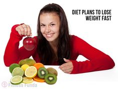 Diet Plans to lose Weight Fast | My fitness funda