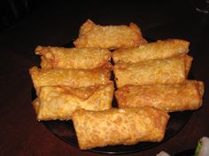 """Pepperoni Egg Rolls, where east meets west... lol.. although I could think of tons of """"egg rolls"""" to make!"""