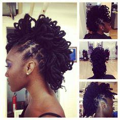 91 Best Natural Hair Loc Petals Images Loc Hairstyles Natural