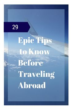 29 Epic International Travel Tips for First Timers Abroad: Planning to travel overseas? Avoid common vacation mistakes with these tips from family travel experts.