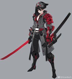 x Concept Art Characters Inspiration Armor 55 Ideas Fantasy Character Design, Character Creation, Character Concept, Character Inspiration, Character Art, Concept Art, Cyberpunk Character, Cyberpunk Art, Ninja Assassin