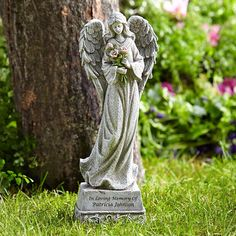 Need a unique gift? Send Memorial Garden Angel and other personalized gifts at Personal Creations.