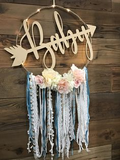 Boho Baby Dream Catcher by Fabulous Creations