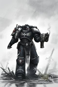 Page 1 of 17 - Rare and cool Templar art - posted in + Black Templars +: Whats on the tin box. Not the art we all know and love, but some more rare pieces, which havent been showcased so widely yet.Heres a sample.http://fc06.devianta...vet-d6nye0x.jpg
