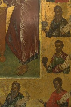 Byzantine Art, Orthodox Icons, Miniatures, Painting, Clothes, Christianity, Outfits, Clothing, Painting Art