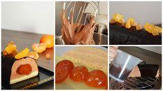 Bûche Chocolat clémentine confite, une recette proposée par Fourchette et Mascara (@johannablog)