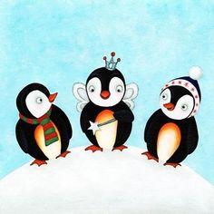 Penguin Angel - Sarah Penguin