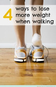 Best Way - How to Walk Faster and Lose More Weight