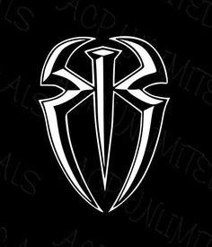 Decals, Stickers & Vinyl Art Home & Garden Roman Reigns Logo, Wwe Roman Reigns, Roman Reigns Wwe Champion, Wwe Superstar Roman Reigns, Undertaker, Wwe Lucha, Empire Logo, Galaxy Phone Wallpaper, Roman Reigns Dean Ambrose