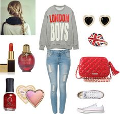 """""""London inspired"""" by vanilla-bean8 ❤ liked on Polyvore"""