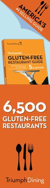 Gluten Free: The Celiac Site | Gluten Free Restaurant Meals