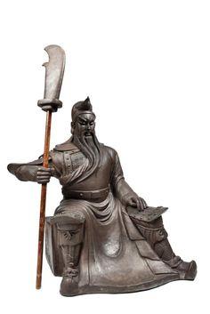 A Ton Colossal Statue Of Guan Yu Chinese God Of War In - China unveils colossal 1320 ton god of war statue
