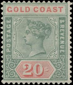 Forged stamps of Gold Coast. Colonial, Crown Colony, Empire, Vintage Stamps, King George, Queen Victoria, Commonwealth, Gold Coast, Welsh