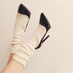 @michalexcg in the Jeffrey Campbell Pristine Leather Sock Heel || Get the heels: http://www.nastygal.com/shoes-brands-jeffrey-campbell/jeffrey-campbell-pristine-leather-sock-heel?utm_source=pinterest&utm_medium=smm&utm_term=ngdib&utm_content=omg_shoes&utm_campaign=pinterest_nastygal