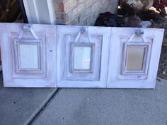 Thrifty Treasures: Some new ideas for cabinet doors