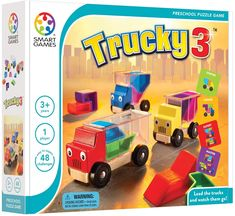 Preschool Puzzles, 3d Puzzles, Online Puzzle Games, Brain Teaser Puzzles, Wooden Truck, Logic Games, Educational Games, Brain Teasers, Kids Learning