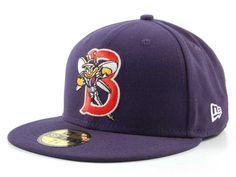Binghamton Mets New Era MiLB 59FIFTY Hats