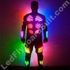 SMART LED Flyboard Suit Skeleton Light Up Clothes, Burning Man Art, Led Costume, Running Accessories, Burning Man Outfits, Smart Outfit, Mannequin Heads, New Shows, Water Sports