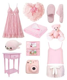 A fashion look from September 2014 featuring spaghetti strap crop top, forever 21 pjs and soft pink throw blanket. Browse and shop related looks. Ddlg Outfits, Girly Outfits, Pastel Fashion, Kawaii Fashion, Looks Kawaii, Ft Tumblr, Space Outfit, Daddy Dom Little Girl, Pink Throws