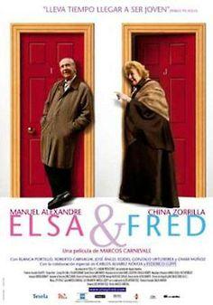 Elsa & Fred (2005) Arxentina. Dir.: Marcos Carnevale. Comedia. Romance. Vellez - DVD CINE 2032
