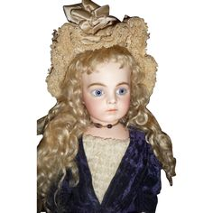 Antique french doll Bru Jne bebe large and exquisite