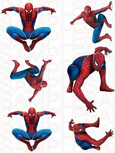 Spiderman Spider Man Waterslide Decals Boys Room Decor New | eBay