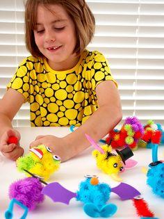 Bunchems toy - creative play, sensory play, fine motor skill development, review
