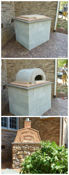 #Diy #Pizzaoven. Make your own. You can do it, if we can. Save thousands of dollars and enjoy it for a lifetime.