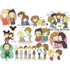 Aww...I love the Louie and El one! :3